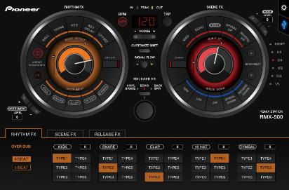 Pioneer DJ RMX-500-1000 Plug-ins