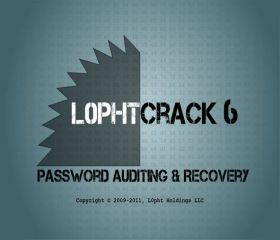 L0phtCrack Password Auditor 7.0.11