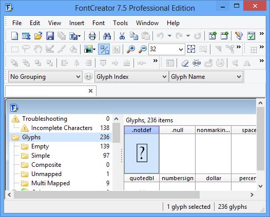 FontCreator Crack Professional free download