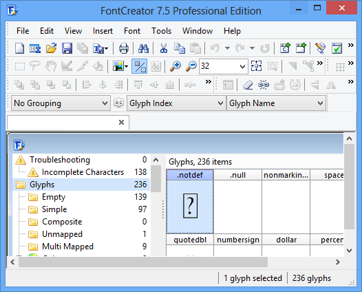 FontCreator Crack Professional free download