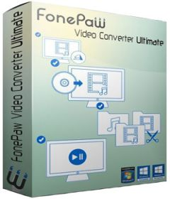 FonePaw Video Converter Ultimate 2.5.0 + Portable + patch