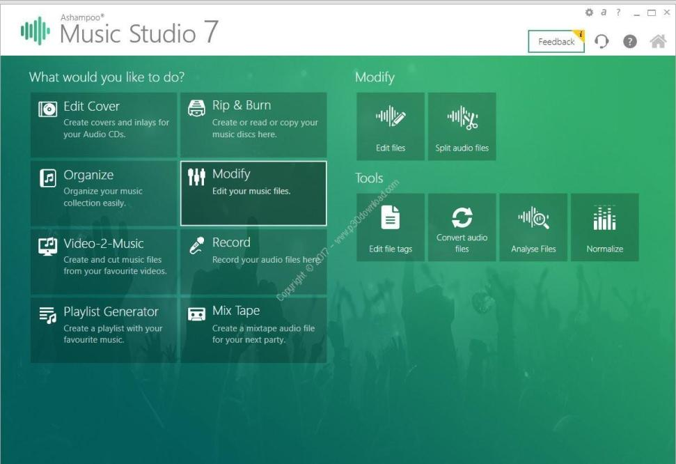 Ashampoo Music Studio 2020 incl patch download