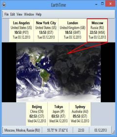 EarthTime 5.16.0 + patch