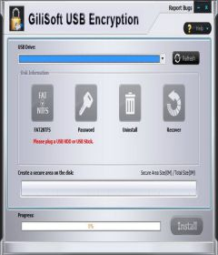 GiliSoft USB Stick Encryption 6.2.0 + keygen