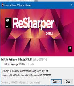 ReSharper 2018.3.2
