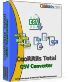 Coolutils Total CSV Converter 3.1.1.195 + key
