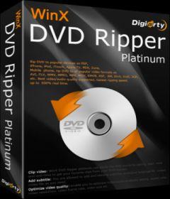 WinX DVD Ripper Platinum 8.9.1.217 Build 20.06.2019 + patch