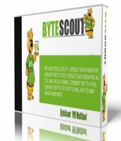ByteScout PDF Multitool + key