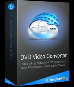 WonderFox DVD Video Converter incl Keygen