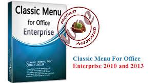 Classic Menu for Office Enterprise patch full version download