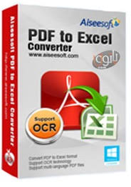 Aiseesoft PDF to Excel Converter free download