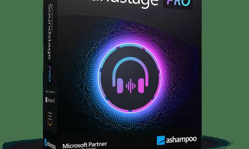 Ashampoo Soundstage Pro incl Patch