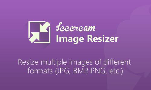 Icecream Image Resizer v2.10 incl activator