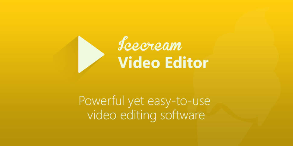 Icecream Video Editor PRO full version download