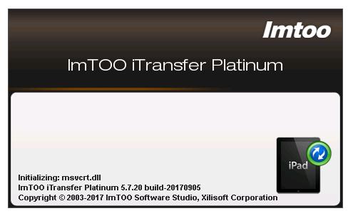 ImTOO iTransfer Platinum 5.7.33 Build 20201019 incl keygen