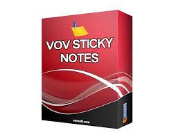 Vov Sticky Notes incl Patch
