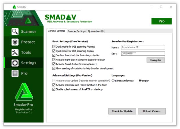 Smadav Pro 2020 Crack Rev 13.4 Full Serial Key Free Download