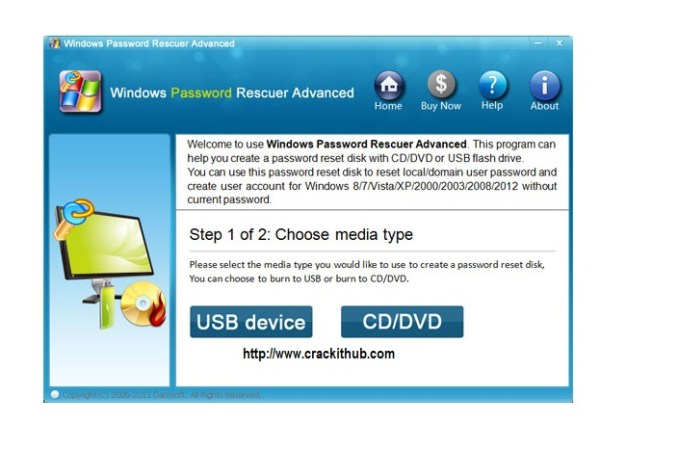 Daossoft Windows Password Rescuer Crack