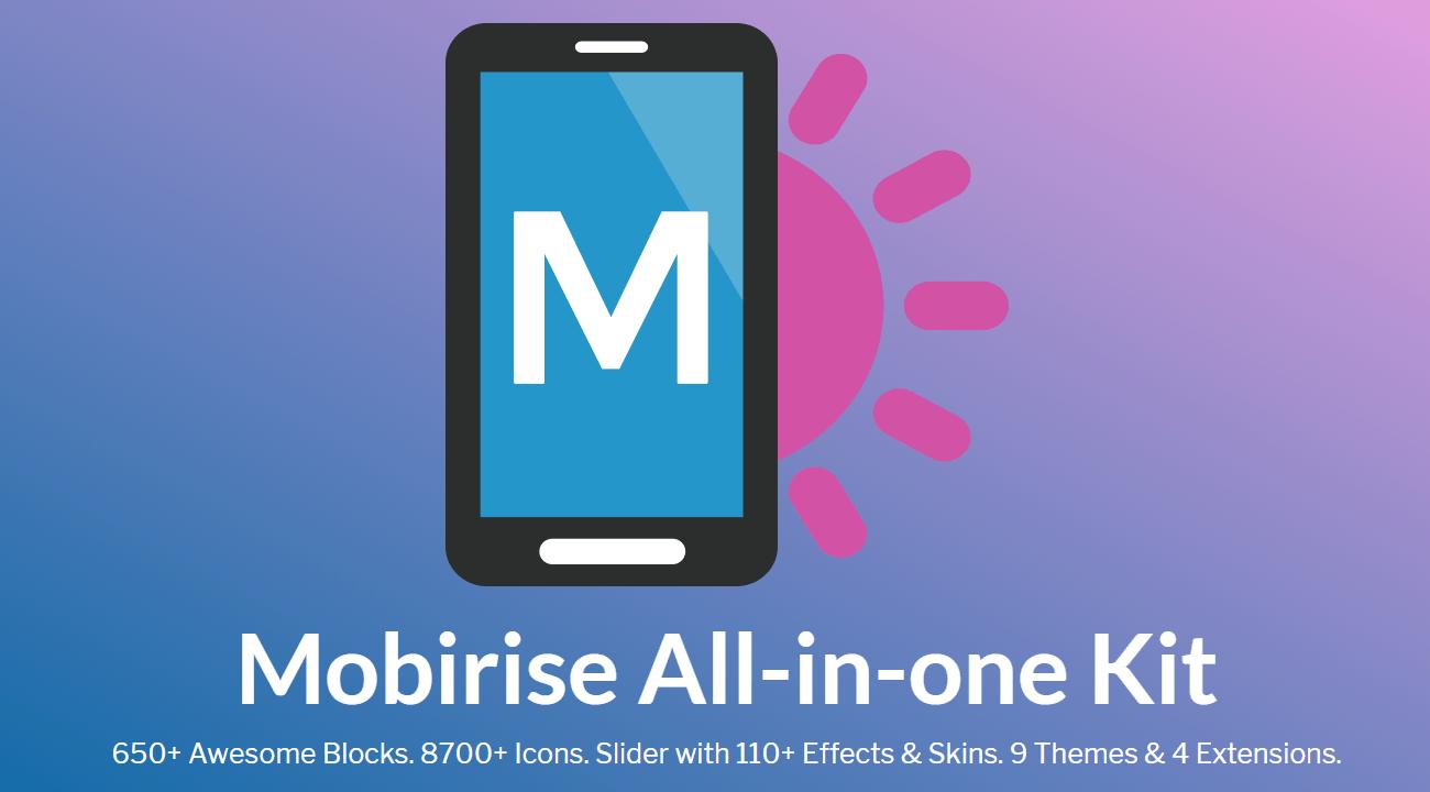 Mobirise 4.8.1