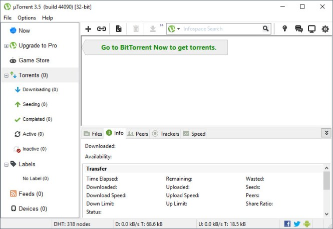 uTorrent 3.5.4 Build 44498 Crack