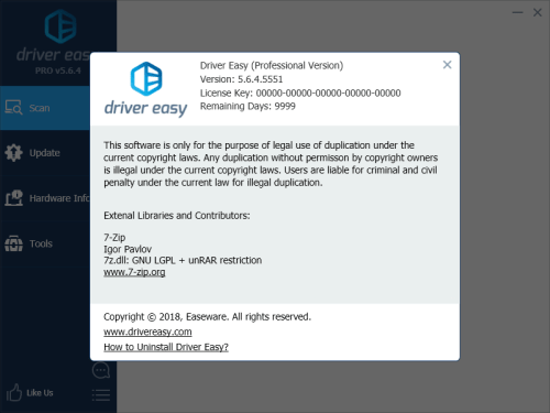 Driver Easy Professional 5.6.4.5551 Crack