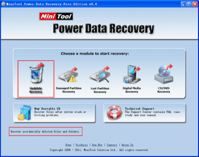 Power Data Recovery Free Edition 8.1 Crack