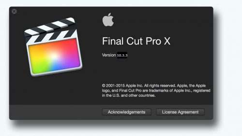 Final Cut Pro 10 4 4 serial key