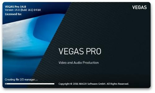 MAGIX Vegas Pro 14 Crack Build 244 & Patch Full