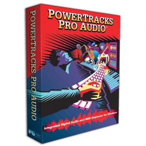 PG Music PowerTracks Pro Audio 2017 + Crack Full