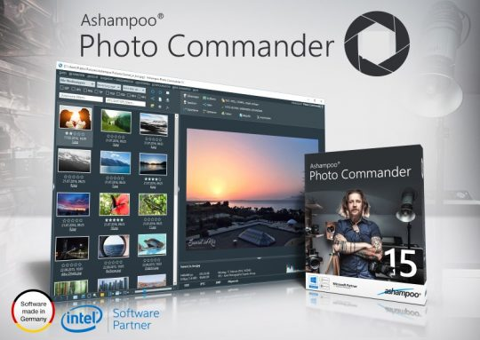 Ashampoo Photo Commander 16 License Key 2018 Free Download