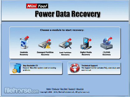 MiniTool Power Data Recovery 8.1 Crack (Serial key + Full)