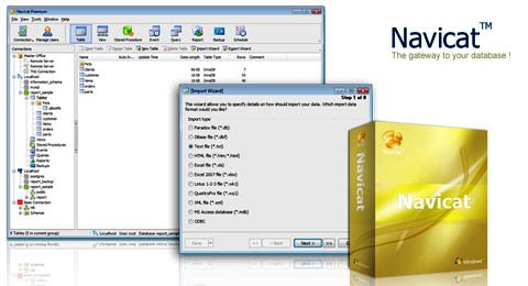 Navicat Premium 12.1.9 Crack + Keygen Free Download