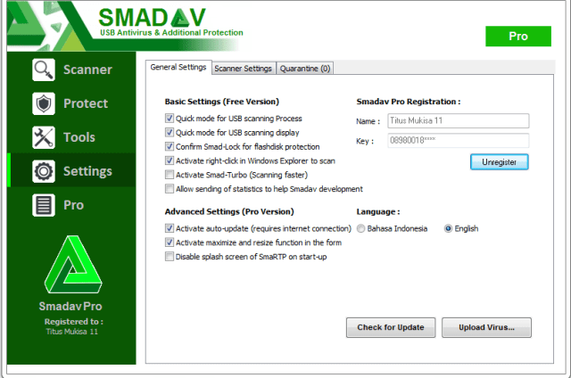 Smadav 2018 PRO 12 Crack & Serial Key Full