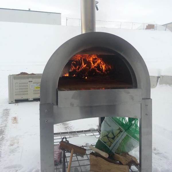Toolshed brewery pizza oven