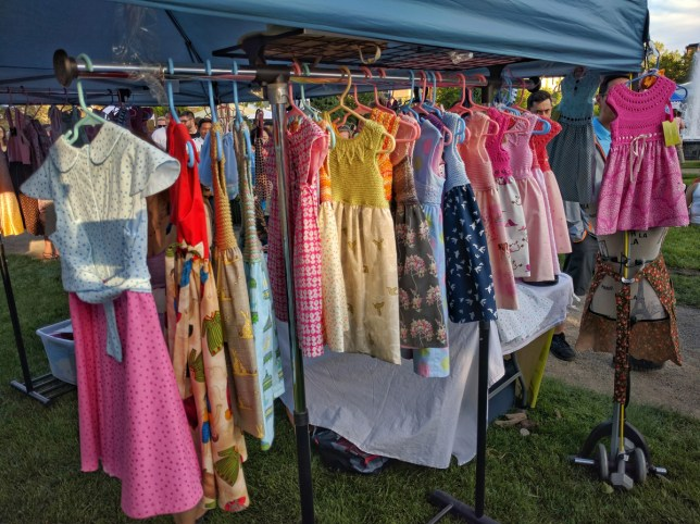 Calgary Night Market Clothing tent 3