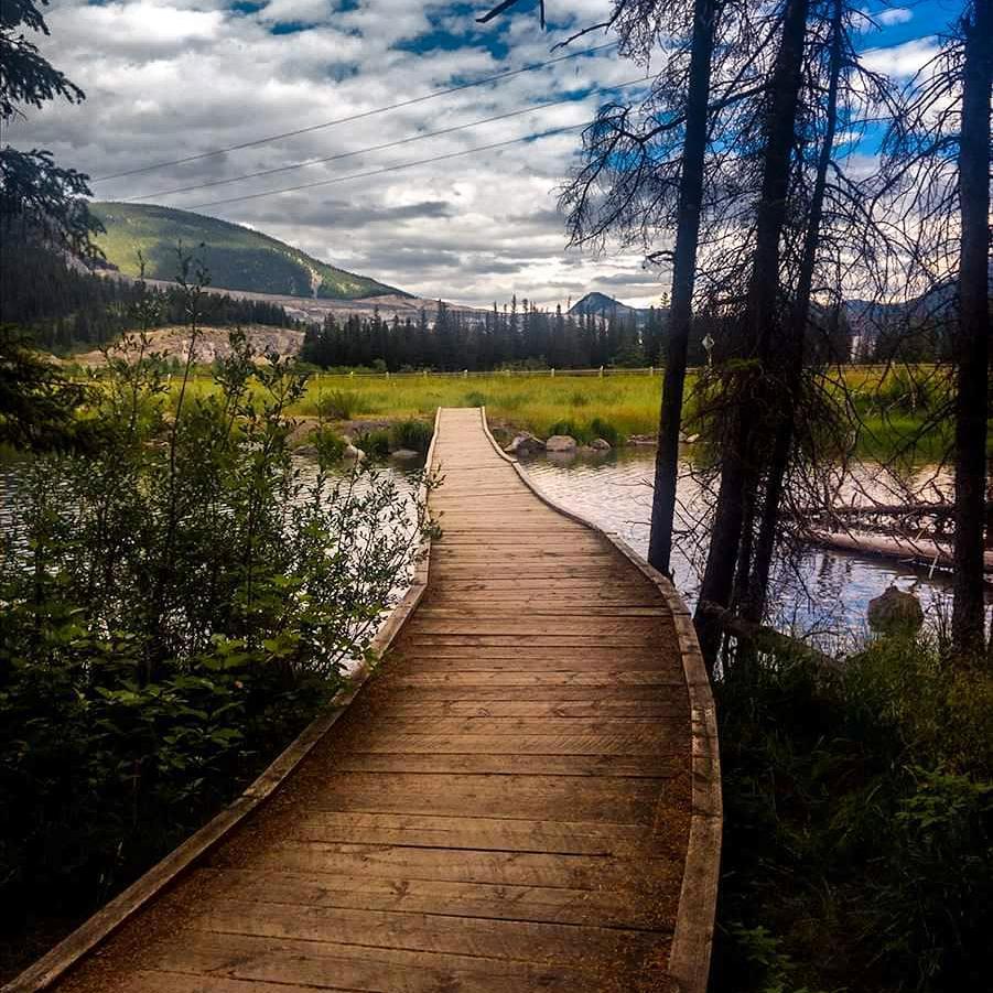 Fishing Around Calgary, Grotto Pond Walkway