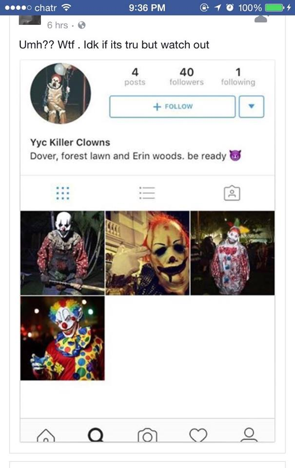 Killer Clowns in Calgary