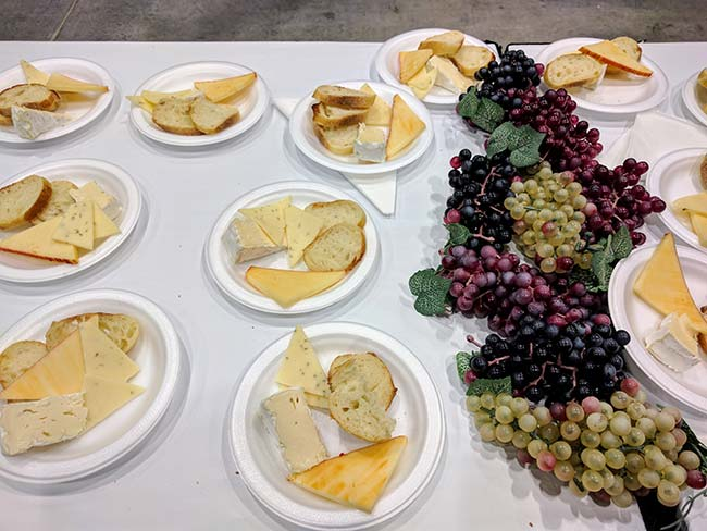Grape Escape cheese plates