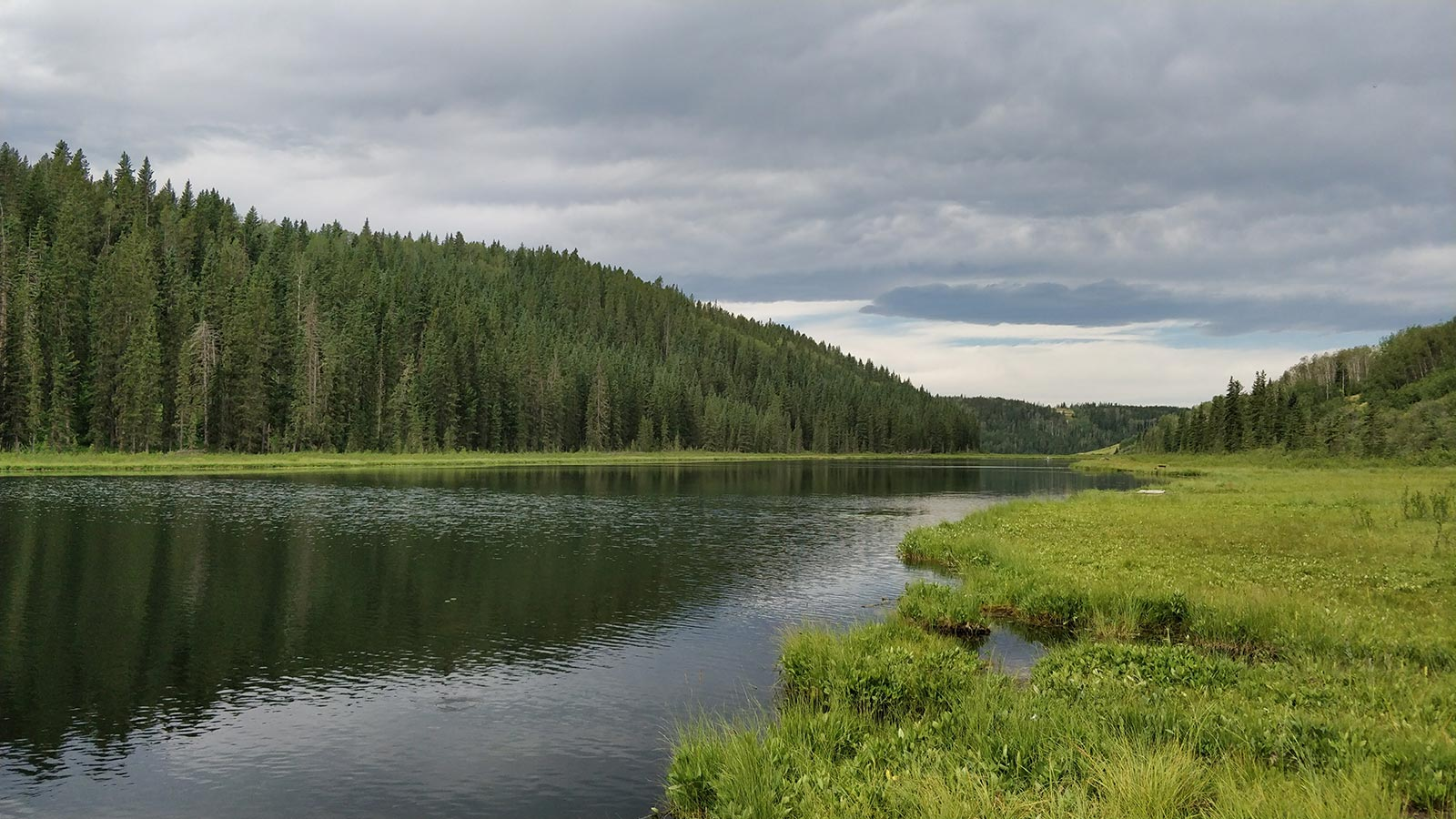 Winchell Lake Cloudy