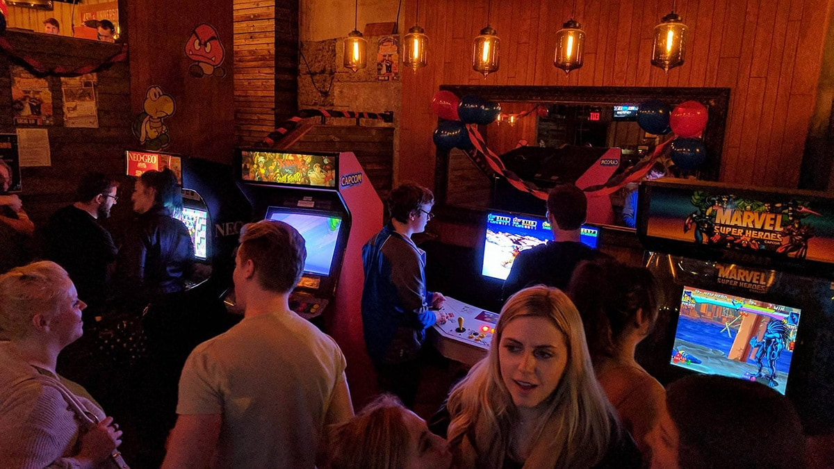 Video game night at Local510