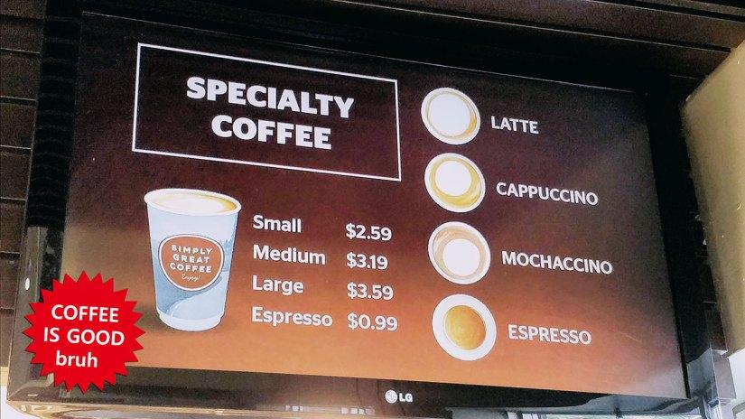 Simply Great Coffee at Circle K