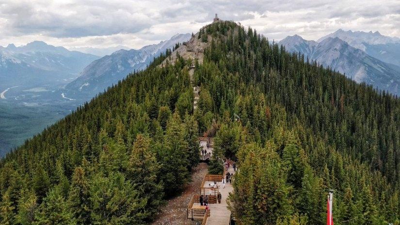 Calgary to Banff Gondola