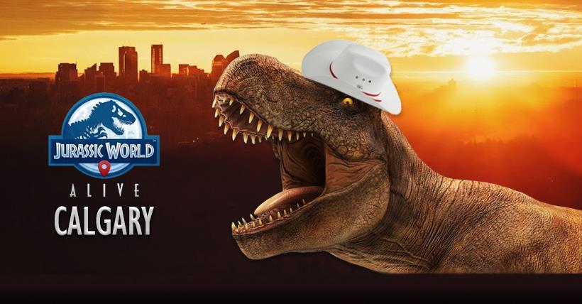 Jurassic World Alive Calgary