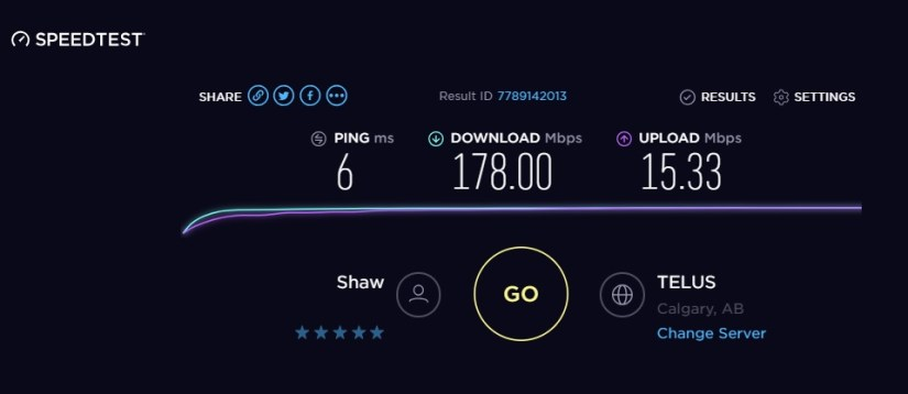 My Review: Using Shaw Cable in Calgary for Internet