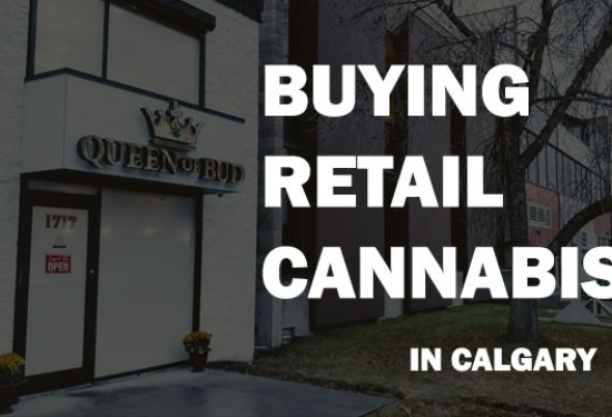 Buying recreational retail cannabis for the first time