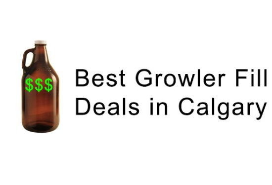 The Best Cheap Growler Fill Deals in Calgary And Area