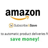 Get automatic reoccurring deliveries with Amazon Subscribe & Save