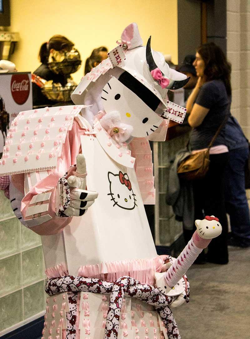 Calgary Comic Con Hello Kitty Ninja