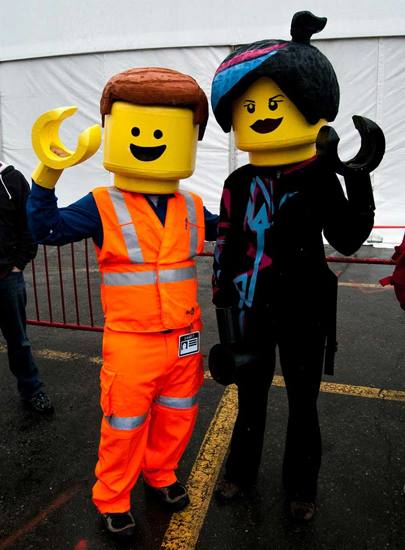 Calgary Comic Con Lego Movie
