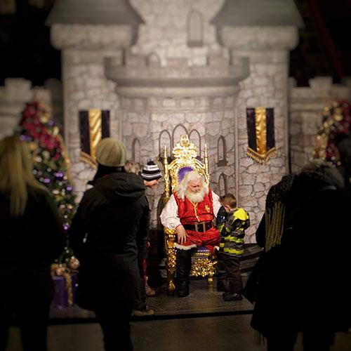 Calgary Zoo Lights Santa